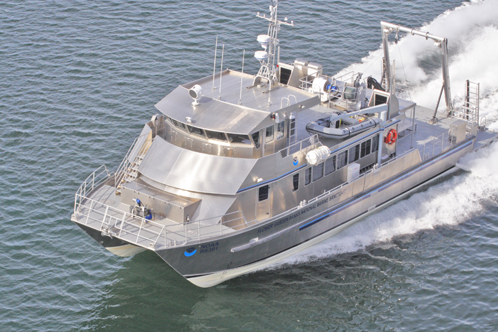 83′ R/V Manta - All American Marine | Aluminum Catamarans | Aluminum ...