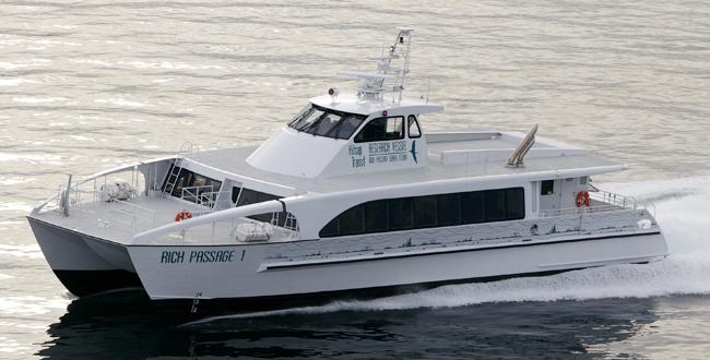 78′ Rich Passage Ultra Low Wake Catamaran   All American