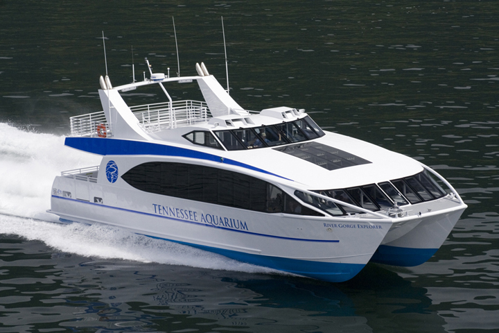 65 River Gorge Explorer High Speed Catamaran All American