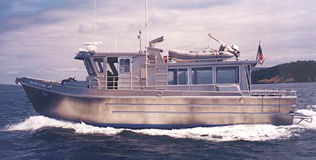 41′ Silver Star - All American Marine | Aluminum Catamarans | Aluminum Boats