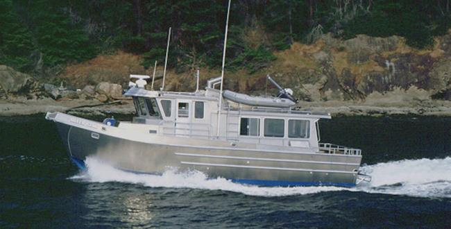 aluminum_trawler_38b | All American Marine | Aluminum Catamarans | Aluminum Boats