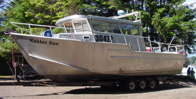 32′ Charter Fishing Vessel - All American Marine ...