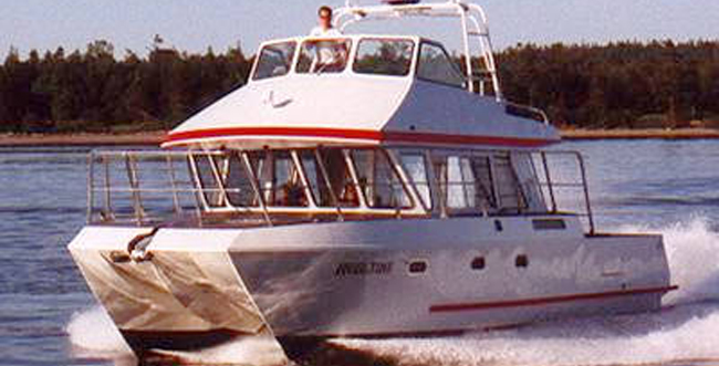 charter_fishing_catamaran_37a | All American Marine | Aluminum Catamarans | Aluminum Boats