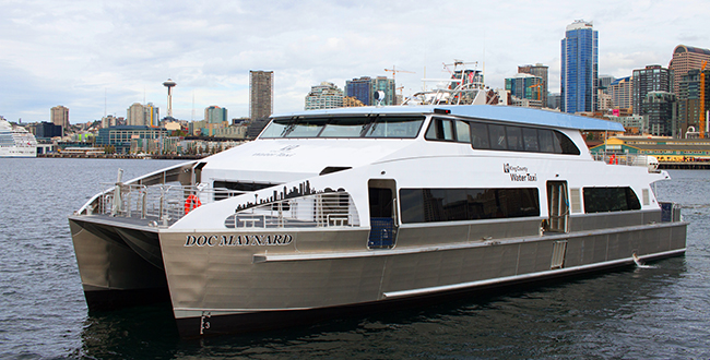 Water Taxi Passenger Ferry – 105′ Aluminum Catamaran - All ...