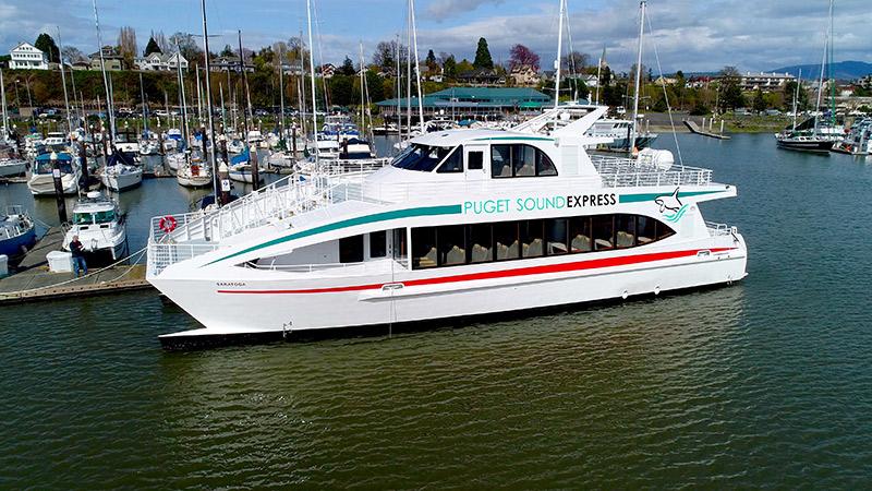 73′ High-Speed Catamaran: The Puget Sound Express Saratoga